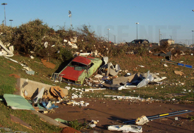 Tornado Damage In Prattville Feb 17 2008